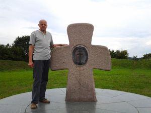 Знак 1000-летие православной церкви на Беларуси. Заславль. Замэчак.  Я автор.